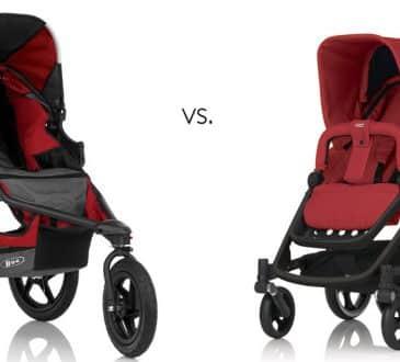 Tre eller fyra hjul på barnvagnen?